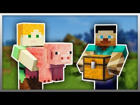 ✔️ Pick Up BLOCKS And MOBS In Your Hands! (Minecraft)