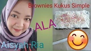 Brownies Kukus Simple