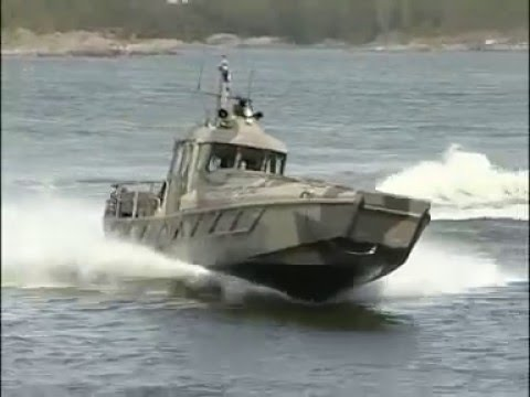 WATERCAT M12 MILITARY TRANSPORT VESSEL