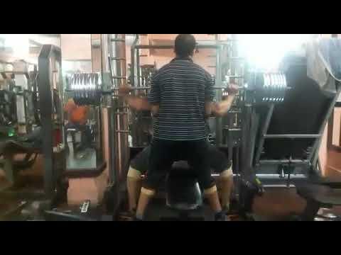 Leg press workout @ BBC gym malakpet(13)