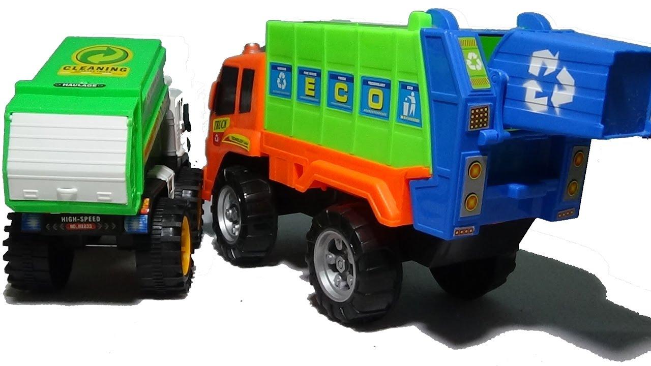 Basura Video De ✓ En Niños Español Juguetes Infantil Camión Camiones Para wPn80OkX