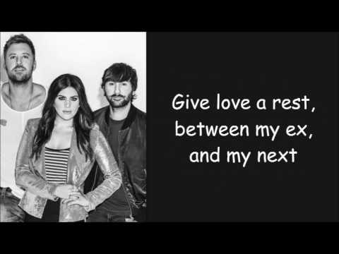 Lady Antebellum ~ Heart Break Lyrics