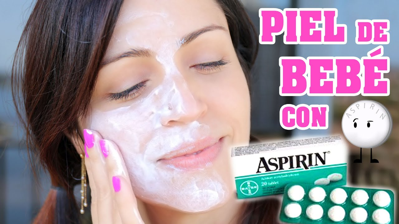 Resultado de imagen para Esta es la manera de cómo utilizar la ASPIRINA para quitar las manchas de la cara y también las manchas del acné