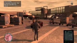 GTA: IV Airport driving - hhaha Cops can