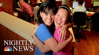 Sister, Sister: A Family Reunion 40 Years in the Making | NBC Nightly News