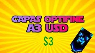 Capas Minecraft Optifine Baratas | 3 usd | Capas De Calidad 2017