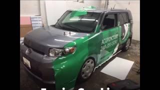 Auto wraps advertising