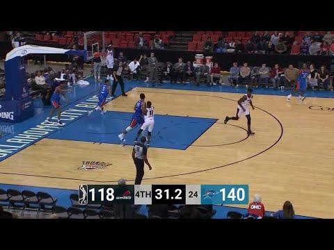DeAndre Liggins (25 points) Highlights vs. Oklahoma City Blue