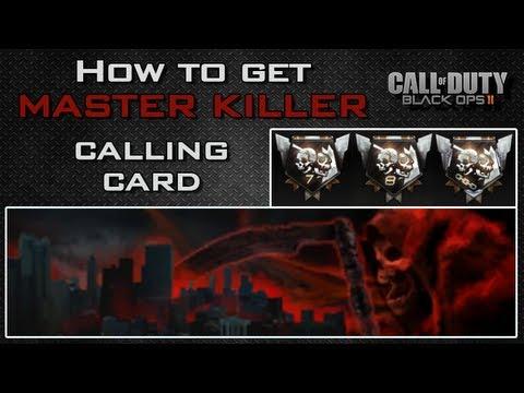 Black Ops 2 How To Get Master Killer Mega Kill Ultra