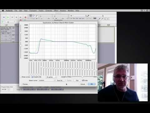 Audacity Tutorial How to Use Audacity Equalizer or EQ Vocal Effects - What is Audacity