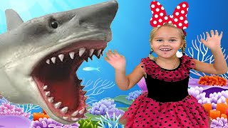 Baby Shark - Nursery Rhymes Song by Sweet Emily
