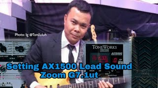 Video SETTING EFEK AX1500 / ZOOM G7.1ut Toni Vh D'band Academy download MP3, 3GP, MP4, WEBM, AVI, FLV Juli 2018