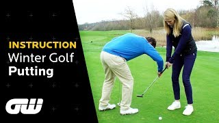 One Easy Trick to Improve Your Putting Technique This Winter | Coaching Anna | Golfing World