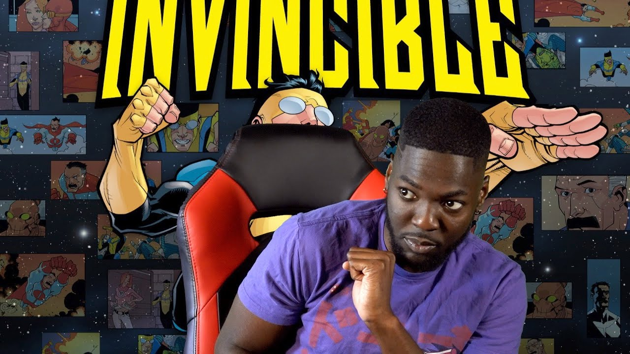 MARK TELLS YOU WHAT YOU SHOULD THINK ABOUT THE SHOW INVINCIBLE AND CALLS IT A REVIEW