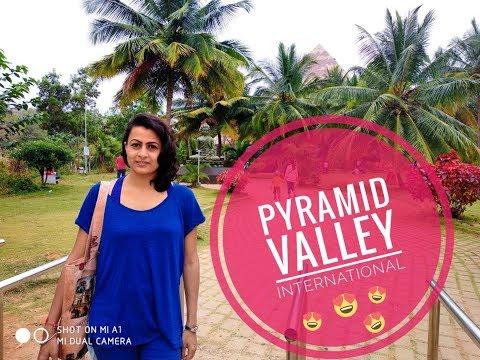 Pyramid Valley International Drone View (International Meditation Center)