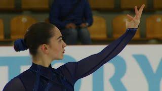 Короткая программа.Девушки. Riga Cup. Гран-при по фигурному катанию среди юниоров 2019/20