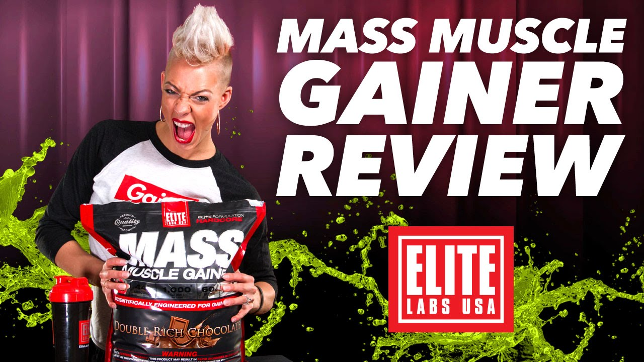 Mass Muscle Gainer Brings Bigger Gains Gi Supplement Highlight Elite Labs 20 Lbs