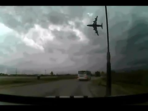 Bagram Airfield Crash April 29th 2013 Dashcam footage
