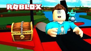 WE CAN FLY! | Roblox Build a Boat For Treasure! | MicroGuardian