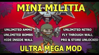 Mini Militia New Mod (Toggle Mod) For Android [Rooted Device][Very Easy]