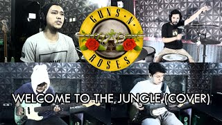 Guns N' Roses - Welcome To The Jungle   ROCK COVER by Sanca Records