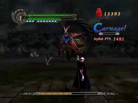 Devil May Cry 4 - Boss Battle 4 Echidna - Nero