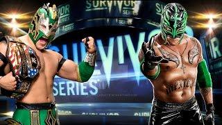 WWE 2K16 PC - Kalisto vs Rey Mysterio