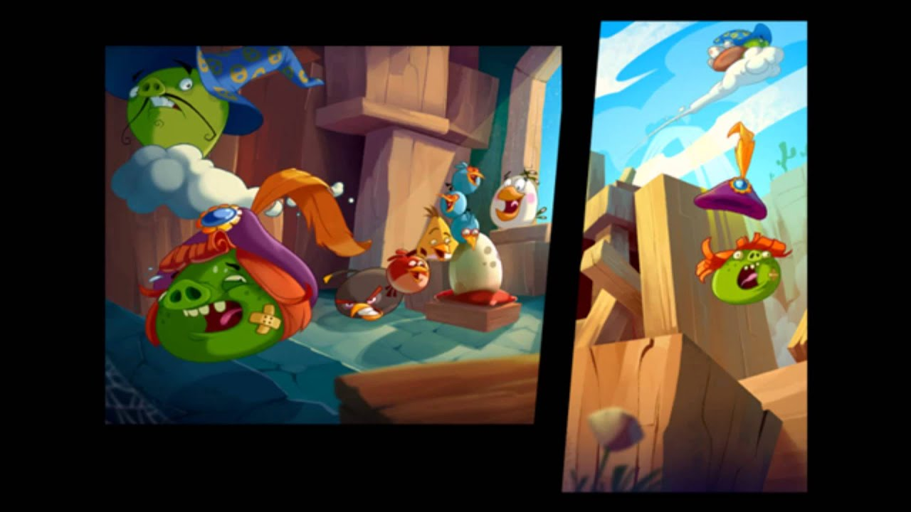 angry birds epic all the cutscenes youtube