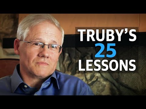 John Truby's Top 25 Screenwriting Lessons