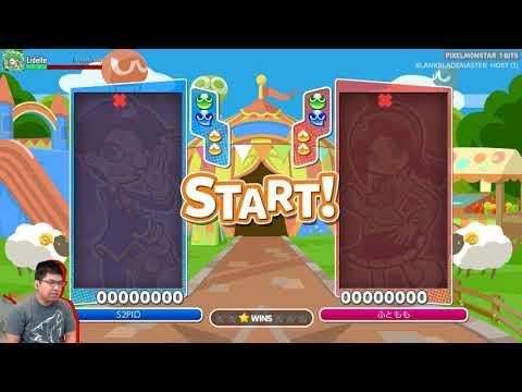 Puyo Puyo Tetris - Getting slaughtered by Tom (#1 JP Puyo player)