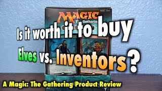 MTG - Is it worth it to buy Elves vs Inventors? The final Magic: The Gathering Duel Deck thumbnail