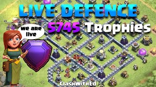 LIVE DEFENCE at 5745 - See My Base in Action