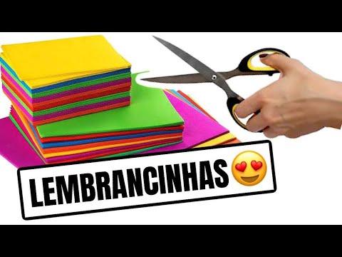 5 LEMBRANCINHAS DE