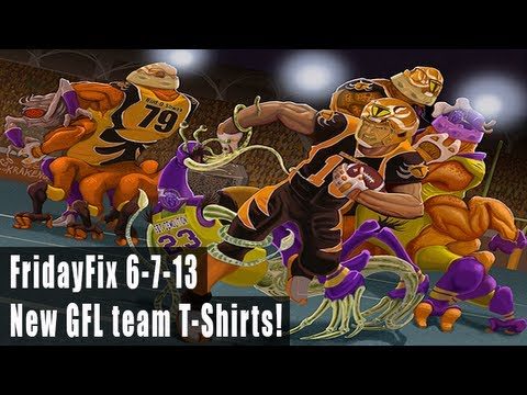 Fridayfix Check Out The New Gfl Team T Shirts Youtube