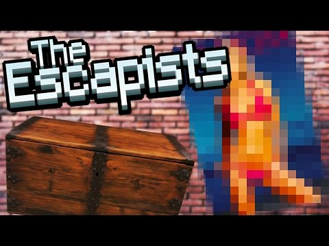 I'M NOT HIDING ANYTHING!   The Escapists #4
