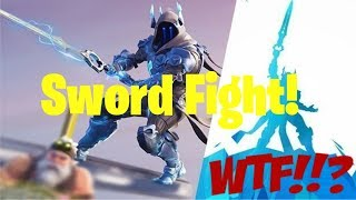 Fortnite: Sword Fight!!! - Infinity Blade - Returns!!! - NEW!