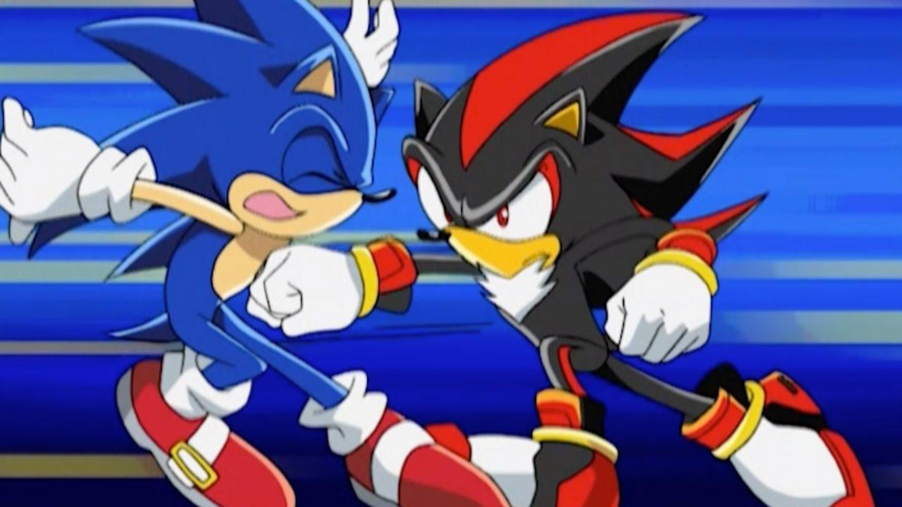 Sonic Meets Shadow The Hedgehog Sonic Vs Shadow Youtube