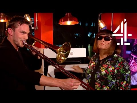 Dawn French, Nicholas Hoult & Chris Evans Play Music | TFI Friday