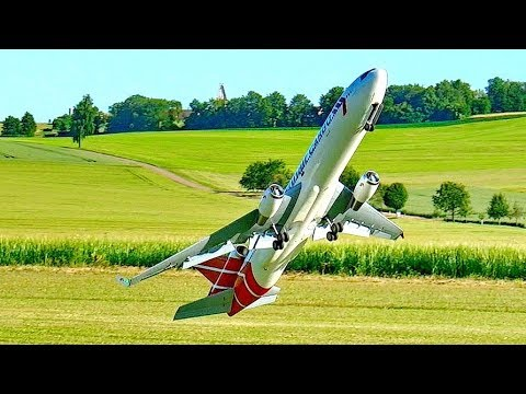 RC AIRLINER CRASH !!! MD-11 HUGE MODEL PASSENGER JET FLIGHT