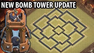 Clash of Clans - TH9 War Base + BOMB TOWER - Town Hall 9 Trophy Base Anti 2 Star