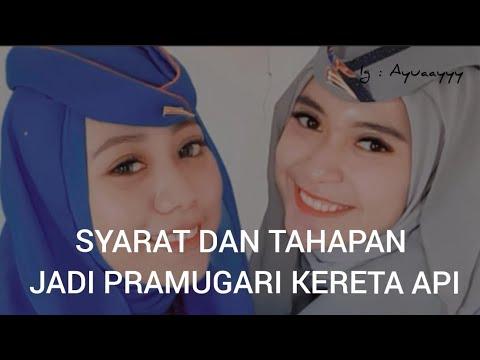 Download SYARAT JADI PRAMUGARI KERETA API 💙