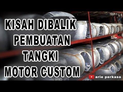 dibalik pembuatan tangki motor custom
