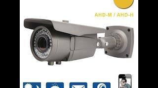 Обзор AHD камеры Techage YN-AHD-BT701F-2.0   2.8-12mm varifocal lens (1080P) на сенсоре  IMX322
