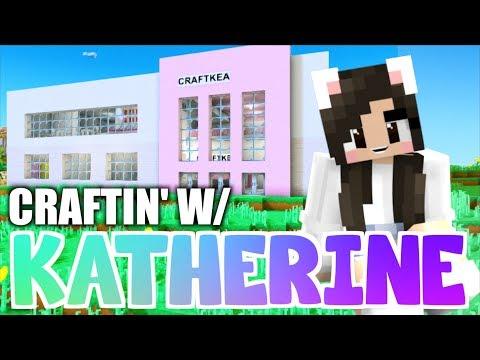 ?Minecraft FURNITURE STORE! Craftin' w/ Katherine Ep. 33