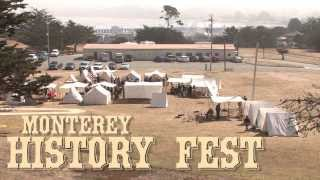 Civil War Camp in Monterey, California