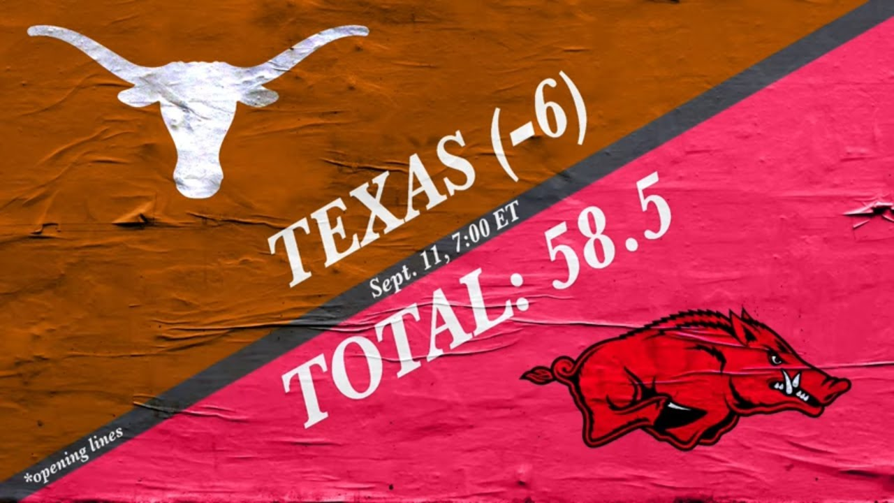 Texas vs. Arkansas: Prediction, pick, football game spread, odds ...