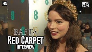 Anya Taylor-Joy  (Split, Glass, X-Men: New Mutants) - BAFTA Awards 2018 Red Carpet Interview