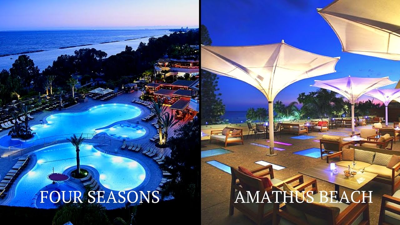 The best Hotel in Cyprus, Limassol | Four Seasons vs Amathus - YouTube