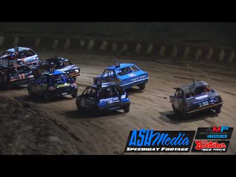 Junior Sedans: Queensland Title A-Main Race Highlights - May 2017 - Maryborough