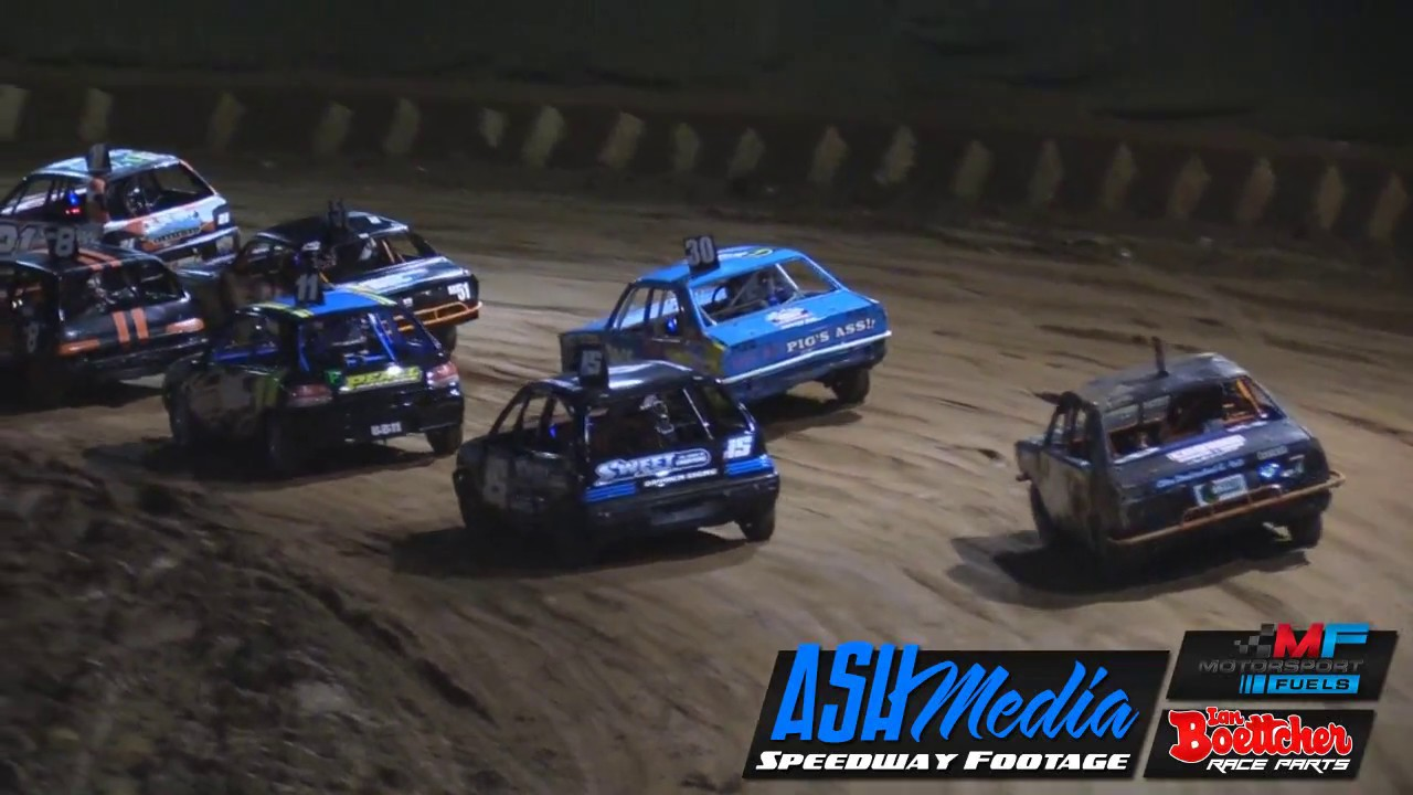 Junior Sedans Queensland Title A Main Race Highlights May